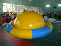0.9mm PVC Tarpaulin UFO Inflatable Saturn Water ​Toy for Kids and Adults