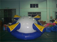 Crazy UFO Inflatable Water Saturn Rocker