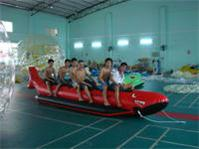 Red Shark Banana Boat - 6 Persons
