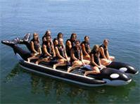 Whale Ride Commercial Side-To-Side Elite Class Banana Boat - 10 Person