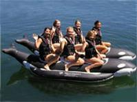 Whale Ride Commercial Side-to-Side Elite Class Banana Boat - 6 Pessenger